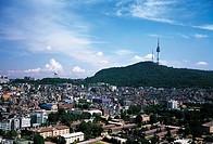 Seoul Tower,Mt  Namsan,Yongsan-gu,Seoul,Korea