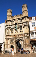 UK, England, Europe, Kent, Canterbury, Christchurch Gate, Architecture, Historic, UNESCO, World Heritage Site, United
