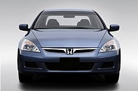 2007 Honda Accord SE V6 in Blue - Low/Wide Front