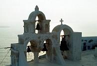 Church bells in Greece.