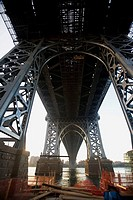 New York City, Willamsburg bridge, USA