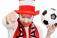 pessimistic, Austrian soccer fan