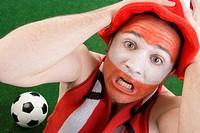 Austrian soccer fan