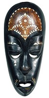 World symbols: Mask Tanzania
