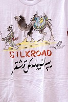China, Xinjiang, souvenir tee_shirt