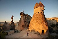 Fairy Chimneys, Devrent Valley, Zelve. Cappadocia, Turkey
