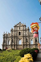 Ruin of Sao Paulo Church, Old city of Macau, China