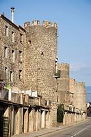 Hostalric. La Selva, Girona province, Catalonia, Spain