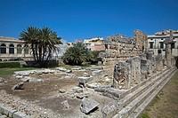 Temple of Apollo Ortygia Siracusa Sicily Italy