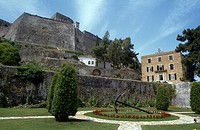 New Fortress Corfu Town Greece