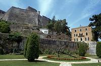 New Fortress Corfu Town Greece