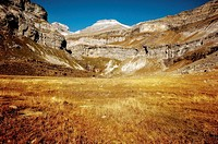 Monte Perdido and Ordesa National Park. Huesca province, Aragon, Spain