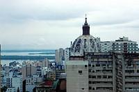 Buildings, Street Borges de Medeiro, Porto alegre, Rio Grande do Sul, Brazil