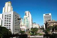 Building of the Bank of Brazil, Vale do Anhangabaú, São Paulo, Brazil