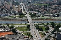 Ponte do Piqueri, River Tietê, Lapa de Baixo, São Paulo, Brazil