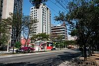 Avenue Engenheiro Luís Carlos Berrini, Brooklin, São Paulo, Brazil
