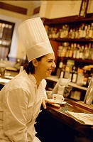 Lourdes Ybarra the chef at the Bar Europa in Seville