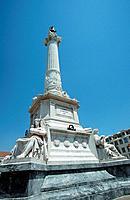 Monument on Praca de Figueira, Lisbon, Portugal, Lisboa