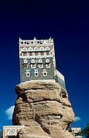 Former summer residenz of Imam Yacha, Wadi Dhar, Yemen, Wadi Darr