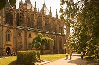 Czech Republic - Central Bohemia - Kutna Hora. UNESCO World Heritage List, 1995. Gothic Cathedral of St. Barbara (Sv. Barbora).