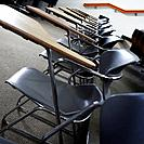 Row of Chairs in Classroom