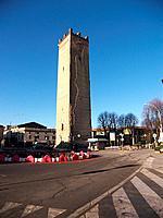 italy, lombardia, castelleone, isso tower