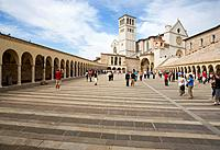 europe, italy, umbria, assisi, san francesco basilica