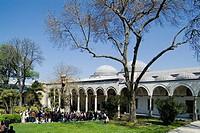 asia, turkey, istanbul, palace of topkapi, garden