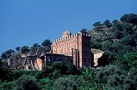 europe, italy, sicily, castelvecchio siculo, chiesa dei santissimi pietro e paolo