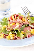 roastbeef with salad