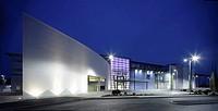 DAIMLER CHRYSLER/ MERCEDES BENZ, WEYBRIDE, SURREY, UK, AUKETT FITZROY ROBINSON, EXTERIOR