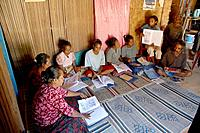 Adult Literacy class, Fatumerita, Aileu District. East Timor