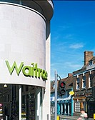 WAITROSE STORE, ST MARTINS STREET, WALLINGFORD, OXFORDSHIRE, UK, MICHAEL AUKETT ARCHITECTS LTD, EXTERIOR, ST MARTIN'S ST AND HIGH ST JUNCTION