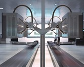 AIRSIDE CENTER ZURICH AIRPORT, ZURICH, SWITZERLAND, GRIMSHAW, INTERIOR, BAGGAGE RECLAIM AREA _ NGP INDUSTRIAL DESIGN