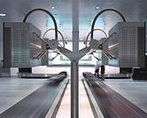 AIRSIDE CENTER ZURICH AIRPORT, ZURICH, SWITZERLAND, GRIMSHAW, INTERIOR, BAGGAGE RECLAIM AREA _ NGP INDUSTRIAL DESIGN