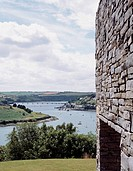 HOUSE KINSALE, KINSALE, IRELAND, SCOTT TALLON WALKER ARCHITECTS, EXTERIOR, VIEW WITH STONE WALL