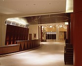 HOLIDAY INN, EURO DISNEY, PARIS, FRANCE, UNKNOWN OR N/A, INTERIOR, ENTRANCE & RECEPTION DESK