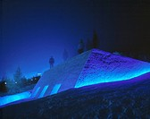 THE SNOW SHOW, SESTRIERE, TURIN, ITALY, TOD WILLIAMS AND BILLIE TSIEN, EXTERIOR, SLEDGE RUN