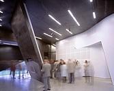 ORDRUPGAARD MUSEUM EXTENSION, CHARLOTTENLUND, COPENHAGEN, DENMARK, ZAHA HADID ARCHITECTS, INTERIOR, ENTRANCE