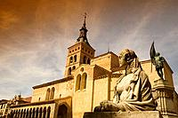 Church of San Martín, Segovia, Castilla-León, Spain