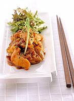 Japanese food _ stir fried