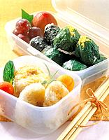 Japanese food _ sushi and vegetable
