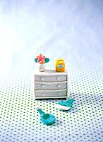 Paper clay toy, furniture