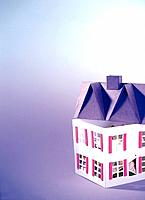 Paper clay toy, house