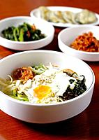 Korean side dishes, mixed vegetables