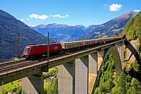 They Lindischgraben bridge is a two-track arched bridge of the Tauern railway, Austria