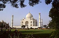 Taj Mahal, one of the seven wonders of the world. Taj Mahal, This ethereal monument was built by Emperor Shah Jahan in memory of his beautiful wife Mu...