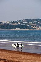 Paignton, Tor Bay, English Channel near Torquay. Devon, UK.
