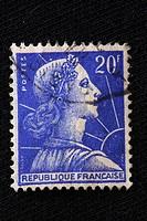 Postage stamp, France