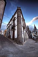 Old street corner, Arucas. Gran Canaria, Canary Islands, Spain